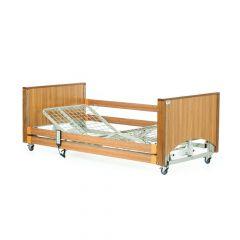 Alerta Lomond Low Electric 4 Section Profiling Bed ‑ Oak