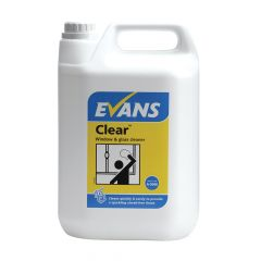 Evans Clear Window & Glass Cleaner 5 Litre