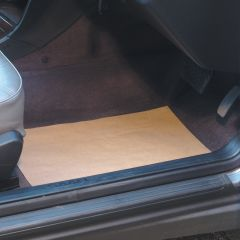 Brown Paper Recyclable Car Floor Mats