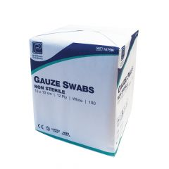 Premier 12ply Non Sterile Gauze Swabs ‑ 10cm x 10cm
