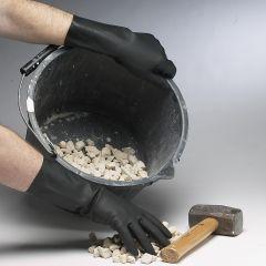 Black Heavy Duty Rubber Gloves