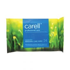 Carell Personal Care Hand and Face Wipes 24 Wipes