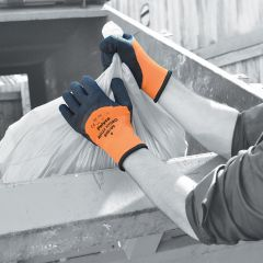 Reflex Hydro High Visibility Thermal Lined Latex Coated Glove