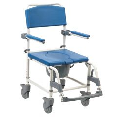 Aston Bariatric Commode & Mobile Shower Chair