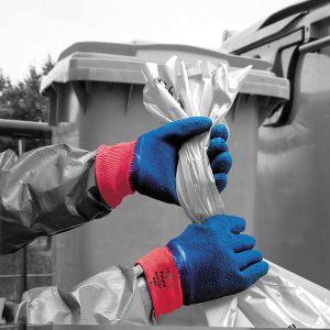 Blue Grip Crinkle Latex Coated Glove