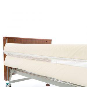 Alerta 2‑Bar Mesh Bed Rail Bumpers ‑ Zip Fasten