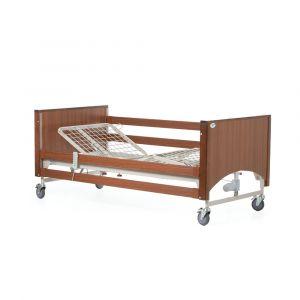 Alerta Lomond Standard Electric 4 Section Profiling Bed ‑ Walnut