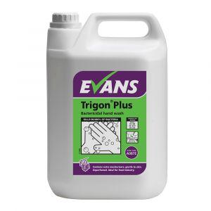 Evans Trigon Plus Unperfumed Bactericidal Hand Wash 5 Litre