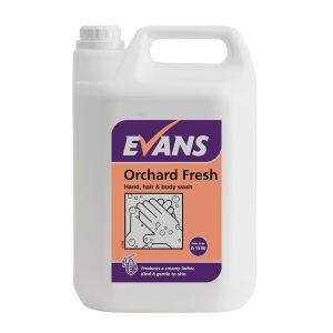 Evans Hand, Hair & Bodywash Soap ‑ Orchard Fresh ‑ 5 Litre