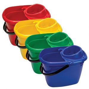 14 Litre Mop Bucket with Wringer