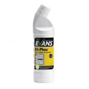 Evans Hi‑phos Toilet Cleaner & Descaler ‑ 1 Litre