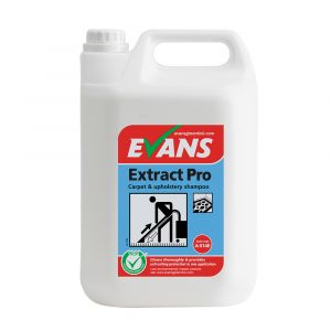 Evans Extract Pro Carpet & Upholstery Shampoo 5 Litre