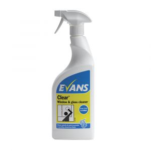 Evans Clear Window & Glass Cleaner 750ml