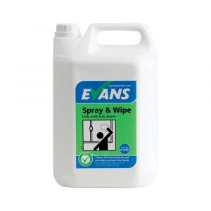 Evans Spray and Wipe Multi Surface Cleaner ‑ 5 Litre