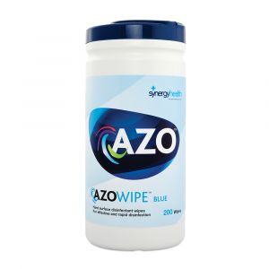 Azo Hard Surface Wipes Canister 200 Wipes