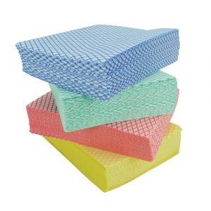 Coloured Cleaning Cloths ‑ 30x38cm