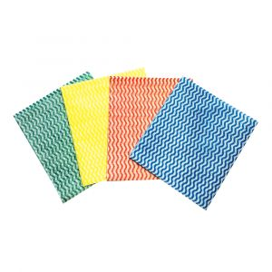 Mediumweight Coloured Cleaning Cloths ‑ 30x50cm