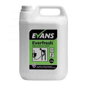 Evans Everfresh Apple Toilet Cleaner 5 Litre