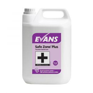 Evans Safe Zone Plus Virucidal Disinfectant 5 Litre RTU