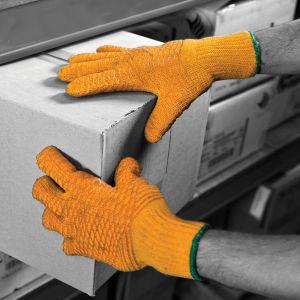 Criss Cross PVC Coated Gloves
