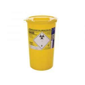 Sharpsguard Sharps Bin Yellow Lid 5L