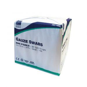 Premier 8ply Non Sterile Gauze Swabs ‑ 10cm x 10cm