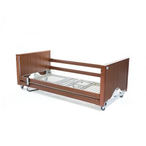 Alerta Lomond Low Electric 4 Section Profiling Bed ‑ Walnut