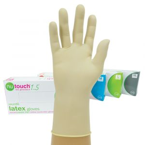 Nutouch Powder Free Smooth Latex Gloves