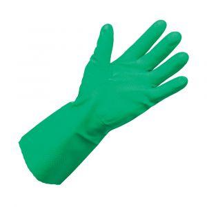 N15 Flock Lined Gauntlet Nitrile Gloves