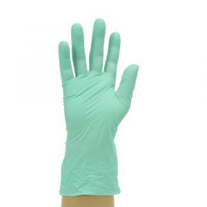Aloe Vera Powder Free Green Synthetic Gloves