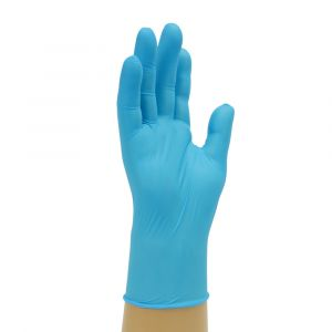 Powder Free Medical Disposable Blue Nitrile Gloves