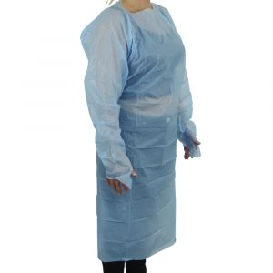 Thumb Loop Protective Apron/Gown