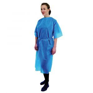 Premier Blue Short Sleeve Gowns