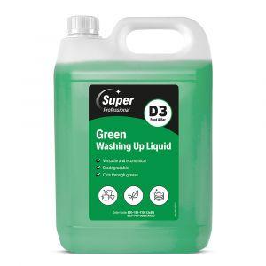 Super Green Washing Up Liquid 5 Litre