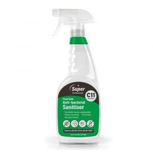 Super Food Safe Anti‑bacterial Cleaner Sanitiser 750ml