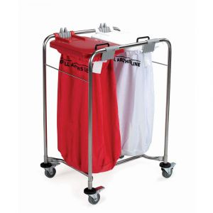 Medi Cart Laundry Trolley Two Bag