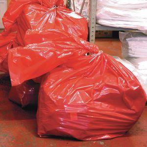 Red Dissolvo Laundry Sacks/Bags