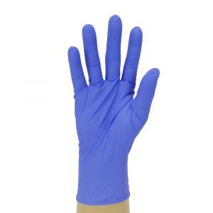 Powder Free Accelerator Free Indigo Nitrile Gloves