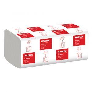 Katrin Classic 2ply Zig Zag V Fold Hand Towels ‑ Case of 4000