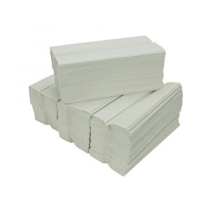 White 1 ply C Fold Hand Towels ‑ Case of 2640