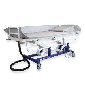 Hydraulic Variable Height Shower Trolley