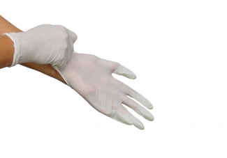 How To Put On Disposable Gloves